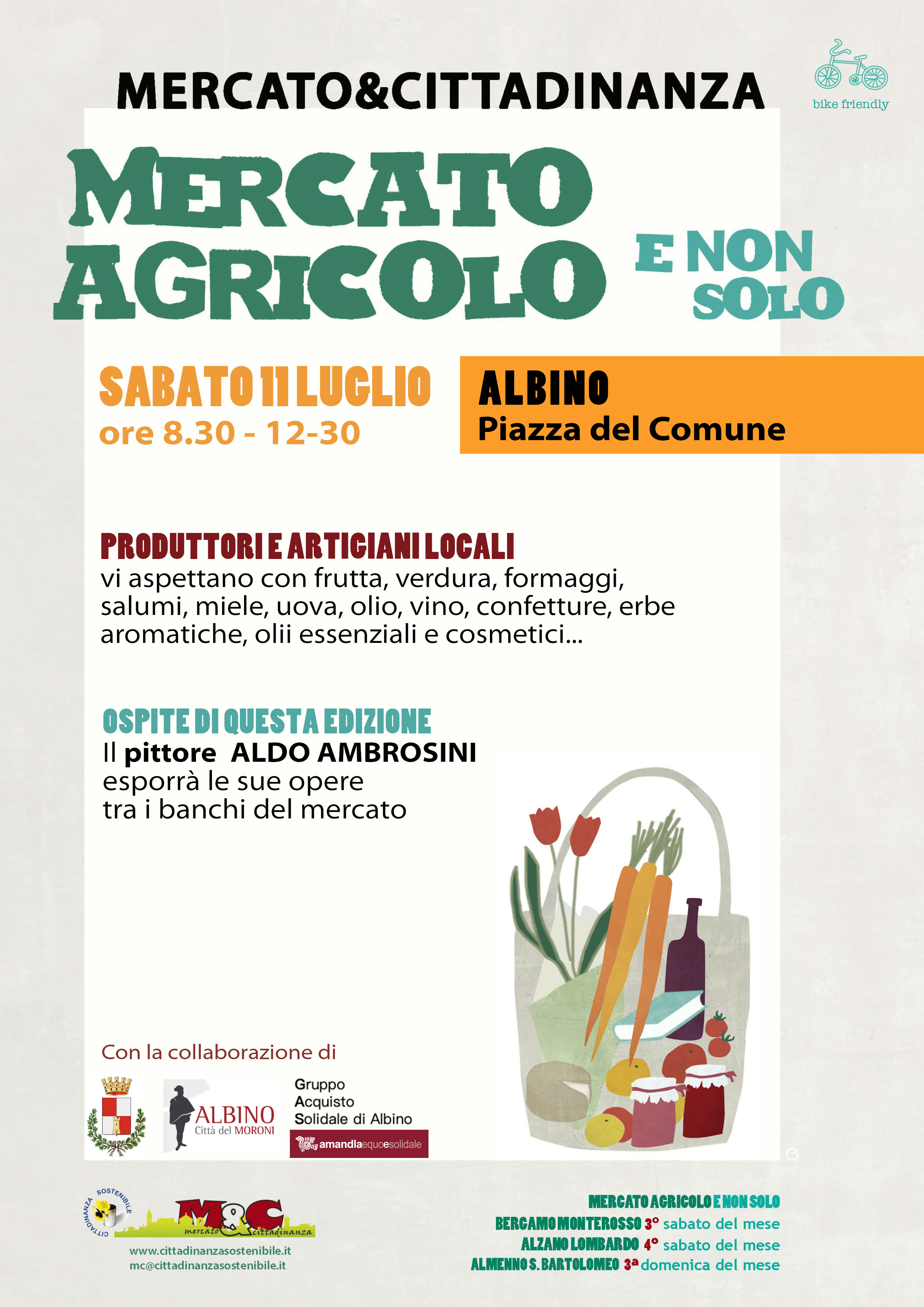 Albino 11 luglio 2020 - Mercato Agricolo e Non Solo