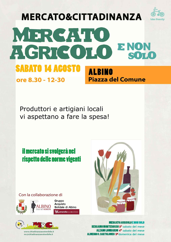 Albino 14 agosto 2021 - Mercato Agricolo e Non Solo